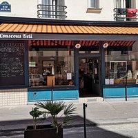 Le meilleur du couscous à Paris.  Options glufree, végan. Légumes et huile d'olive bio.