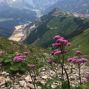 Reichenstein bergpass