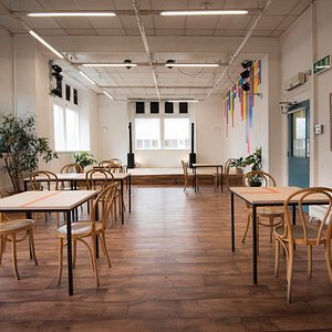 The Old Library Cafe. Simple food with produce sourced from our communtiy garden.