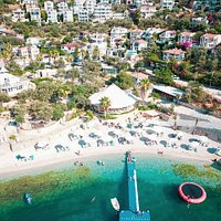 Beach Park Kalkan has made changes for the 15th anniversary. Crystal clear sea, fast service, delicious meals, fancy cold drinks and the biggest beach club in Kalkan.