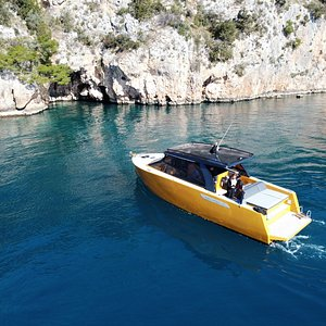 Luxury sport yacht