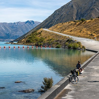 Lake Ohau Weir, Alps 2 Ocean