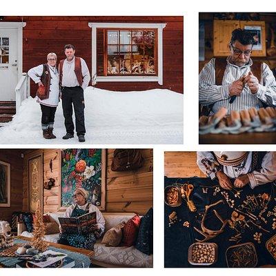 Koru- ja Taidekäsityö A.Kangasniemen verstas ja lappilainen koti sijaitsevat Rovaniemellä. Verstaalla valmistetaan kädentöitä perinteisistä lapplaisista luonnonmateriaaleista. Lappilainen hirsikoti sijaitsee samassa pihapiirissä, jonne olet tervetullut aistimaan lappilaista elämänmenoa.