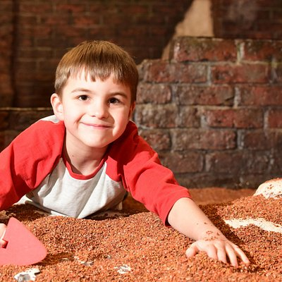 DIG is a hands-on archaeological adventure giving kids the chance to become trainee 'diggers' and discover the most exciting artefacts from 2000 years of York's history!