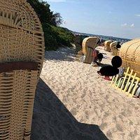 Pláž Timmendorf - Strand bei Rostock