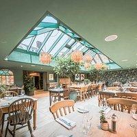 The Garden Room restaurant at The Westleton Crown