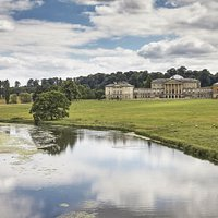 Kedleston Hall and parkland in Derbyshire is cared for by the National Trust