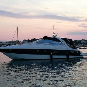Our Cranchi 43 yacht
