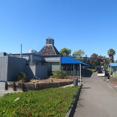 Restaurant, Ballena Isle Marina, Alameda, CA
