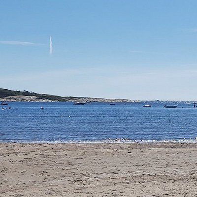 Utsikt fra stranda