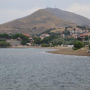 Romeikos Gialos Beach in Myrina - Lemnos, Greece