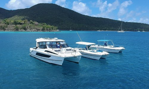 Our Fleet of Power Catamarans