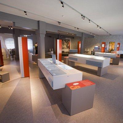 Innenansicht des Alamannenmuseums