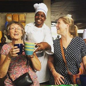 We love to laugh! Kivukoni Fish Market