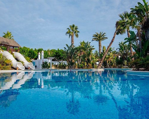 piscina tropical con - Devesa Gardens Camping & Resort Valencia Spain