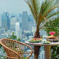 BANGKOK'S TROPICAL BACKYARD Up high on the 40th floor of Kimpton Maa-Lai Bangkok, Bar.Yard is a rooftop garden and drinking hole.