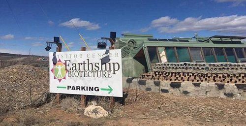 Earthship Visitor Center