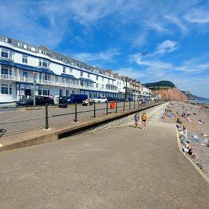Sidmouth Town Beach (08/Aug/20).