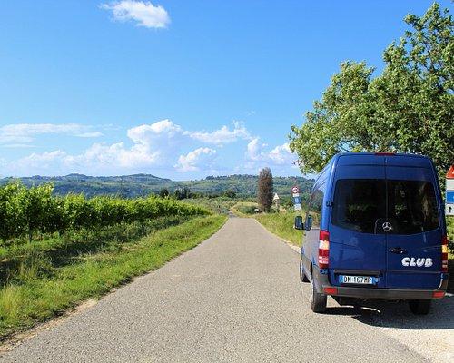 Driving through the hills of Chianti