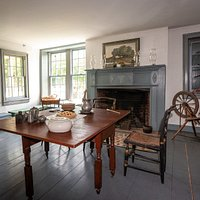 Guests can tour the inside of the historic home.