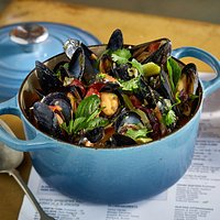 The mussels.