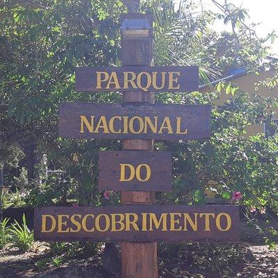 Área de acesso principal ao Parque Nacional do Descobrimento. Autoria: Marcos Nunes