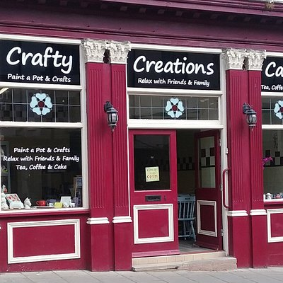 The Crafty Creations Cafe on Eastborough
