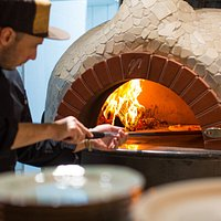 Wood-fired pizza!