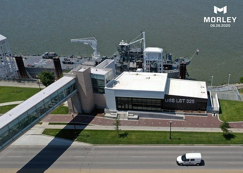 LST Memorial's new Visitor Center and mooring facility.
