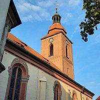 St.Rochus im Morgenlicht. Wunderschön! #RochusZirndorf .