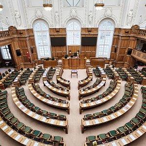 The Danish Parliament. Photo by Christoffer Regild