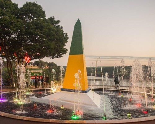Obelisco do Marco das 3 Fronteiras - Créditos: Marcos Labanca