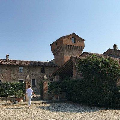Vista del complesso dell'antico castello