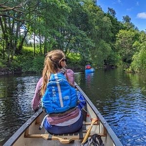 Canoeing on Loch Voil