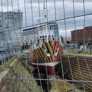 Cool looking exhibit in the Merseyside Maritime Museum