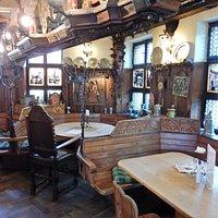 L'intérieur! L'attrait principal du restaurant