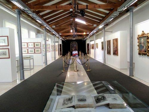 Sala espositiva della GCAC di Monfalcone