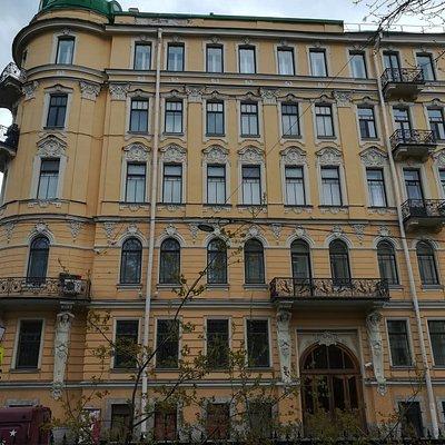 Доходный дом А.И. Шульгина, Таврическая,13/45, Санкт-Петербург.