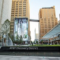 As a technology and media company, we don't just connect the world - we connect people and culture. The AT&T Discovery District is where all this comes together - and everyone's invited. After all, life's better when we get together and share new experiences. Leave your expectations at the door. The District is a celebration of innovation, right in the heart of downtown Dallas.