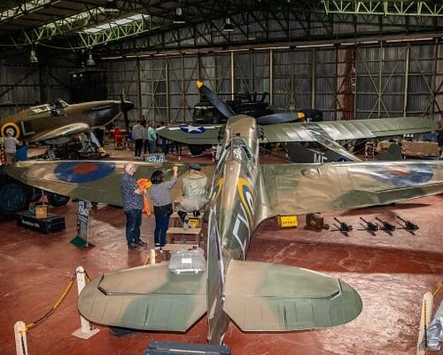 If you are visiting Blackpool, the a couple of hours visit to Lancashire's only Aviation Museum is a must!  This Privately owned collection of WW2 Aircraft, memorabilia and back to flight restoration projects