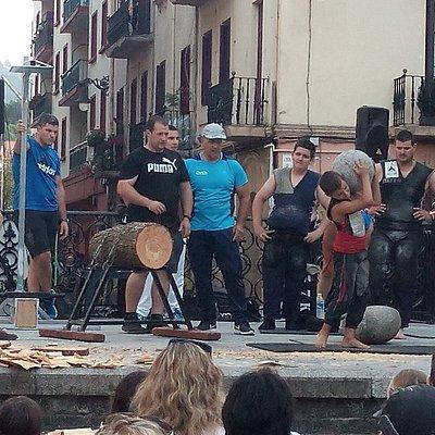 Actividades en Zarautz. Deportes tradicionales.