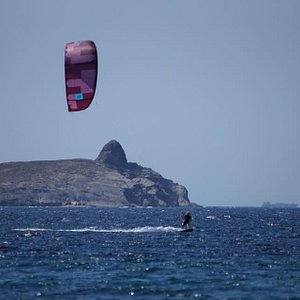 Beautiful landscapes to practice kitesurfing !