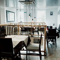 The upstairs seating area is available for exclusive hire for parties and other events.
