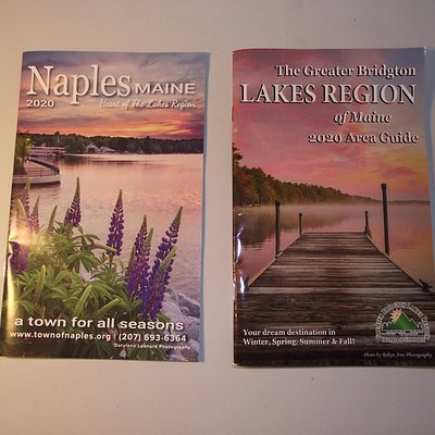 ME - OGUNQUIT C OF C - BOOKLETS ON NAPLES & GREATER BRIDGTON