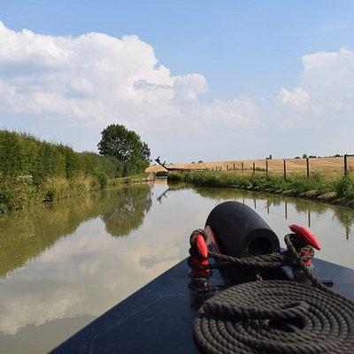 Conqueror - Oxford Canal near Twyford Wharf