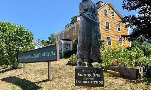 Evangeline: 100 Years of the Acadian Heroine Exhibit on until September 21st!