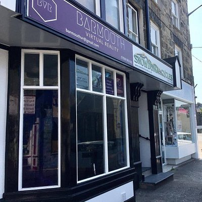 Find us on the High Street in Barmouth