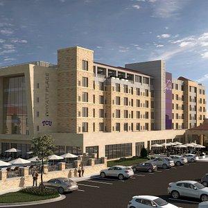 Hyatt Place Fort Worth/TCU Rendering