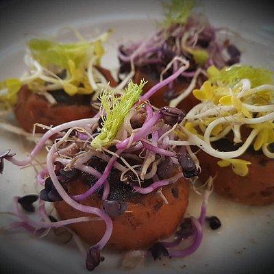 Piatti ispirati alla cucina di chef stellati.