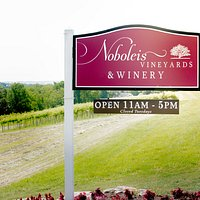 Noboleis Vineyards Open Daily 11am-5pm, Closed Tuesdays